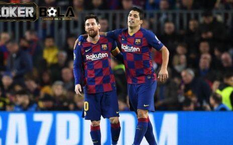 Lionel Messi kehilangan Luis Suarez