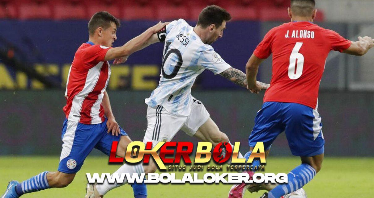 Copa America 2021, Hasil Akhir Match Argentina vs Paraguay : 1-0