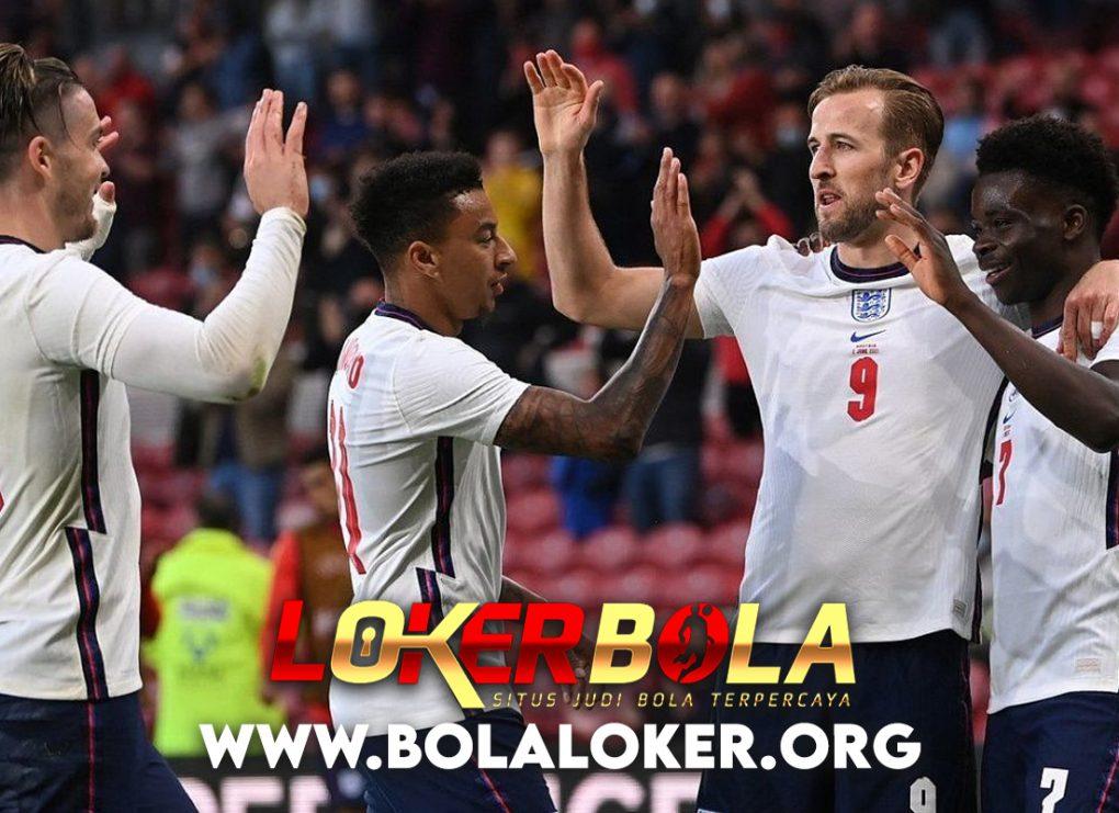 Euro 2020 : Sempat Tegang, Inggris Lega Bisa Menang
