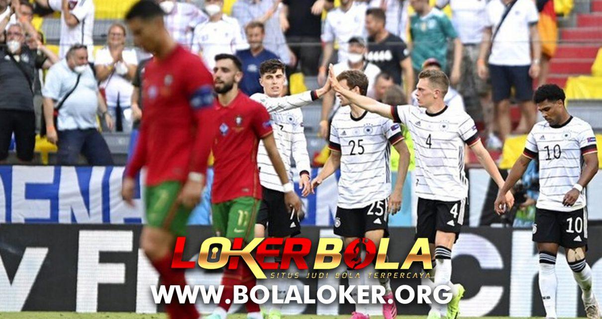 Euro 2020, Hasil Akhir Match Portugal vs Jerman: 2-4