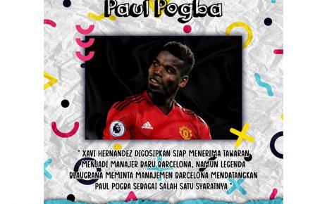 Siap Tangani Barcelona, Xavi Minta Didatangkan Paul Pogba